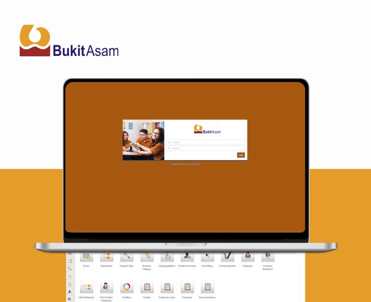 PT Bukit Asam ERP Software