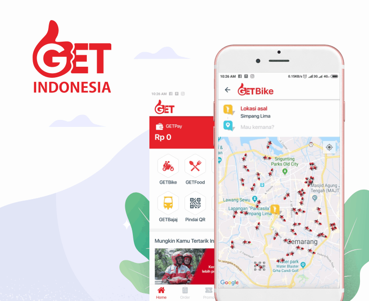 GET Indonesia Transportation Daring Platform