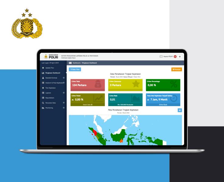 Kepolisian Negara Republik Indonesia Aplikasi Laporan Polisi
