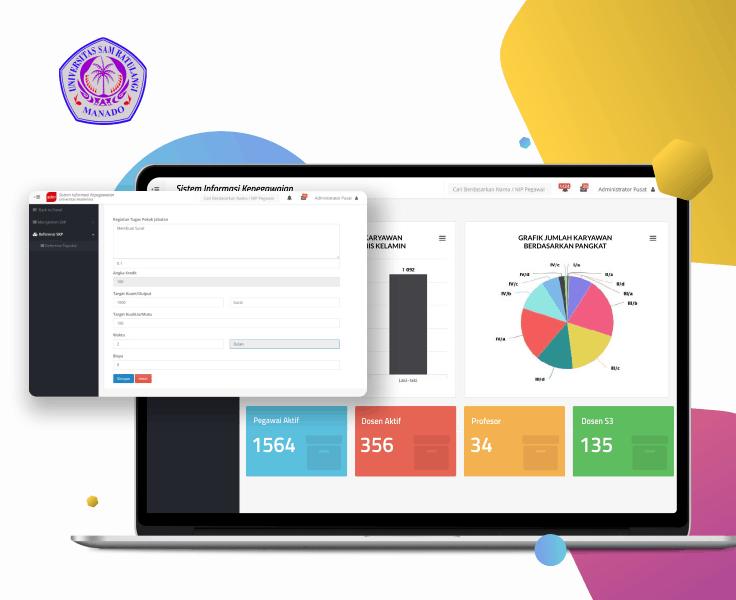 Universitas Sam Ratulangi Sistem Informasi Kepegawaian
