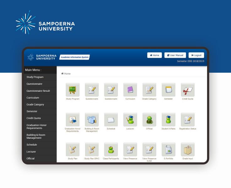 Sampoerna University Sistem Informasi Akademik