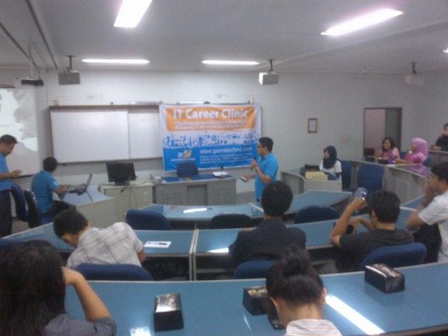 IT Career Clinic Di Universitas Atma Jaya Yogyakarta