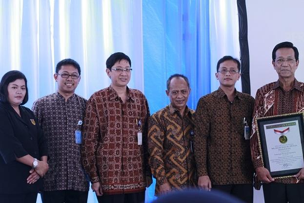 Penghargaan Sistem E-Ticketing Transjogja Dari Muri
