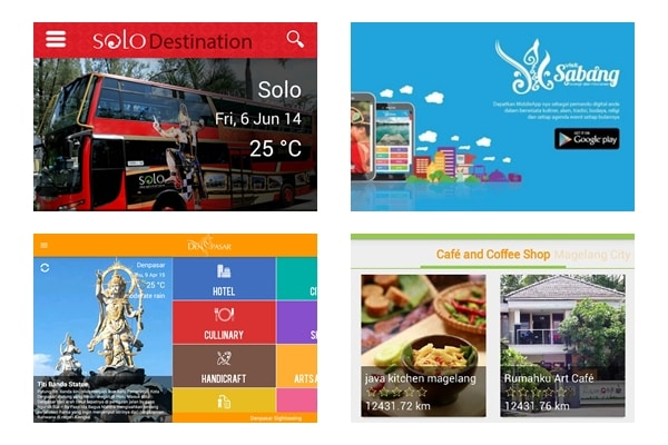 Digital Tourism Guide di Indonesia
