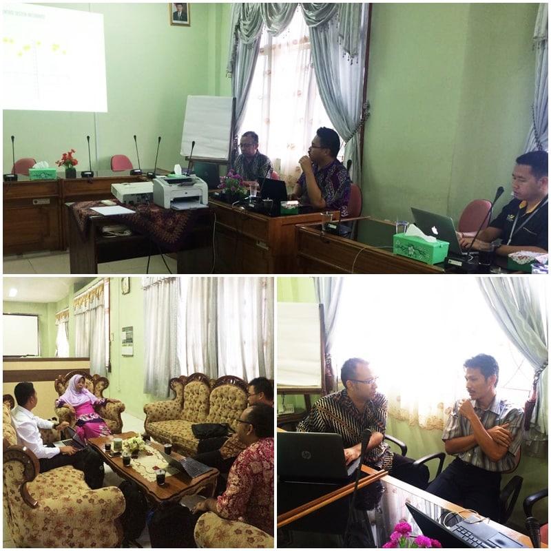 Diskusi penyusunan Masterplan TI di STAIN Metro Lampung