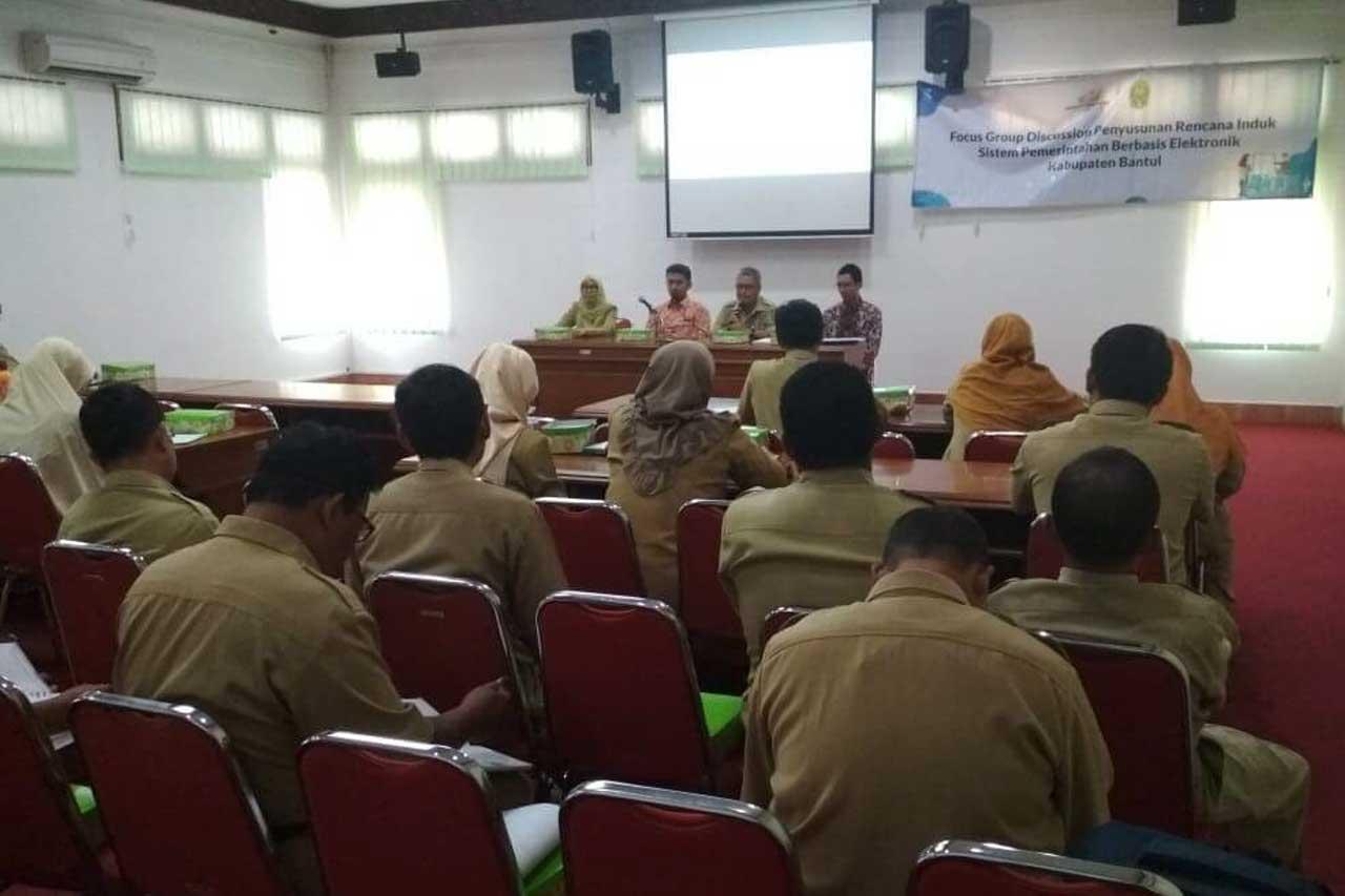 Gamatechno Dampingi Kabupaten Bantul Siapkan Implementasi SPBE