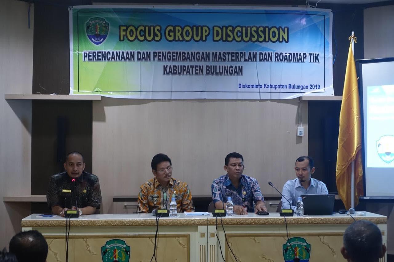 Gamatechno Dampingi Kabupaten Bulungan Siapkan Roadmap SPBE