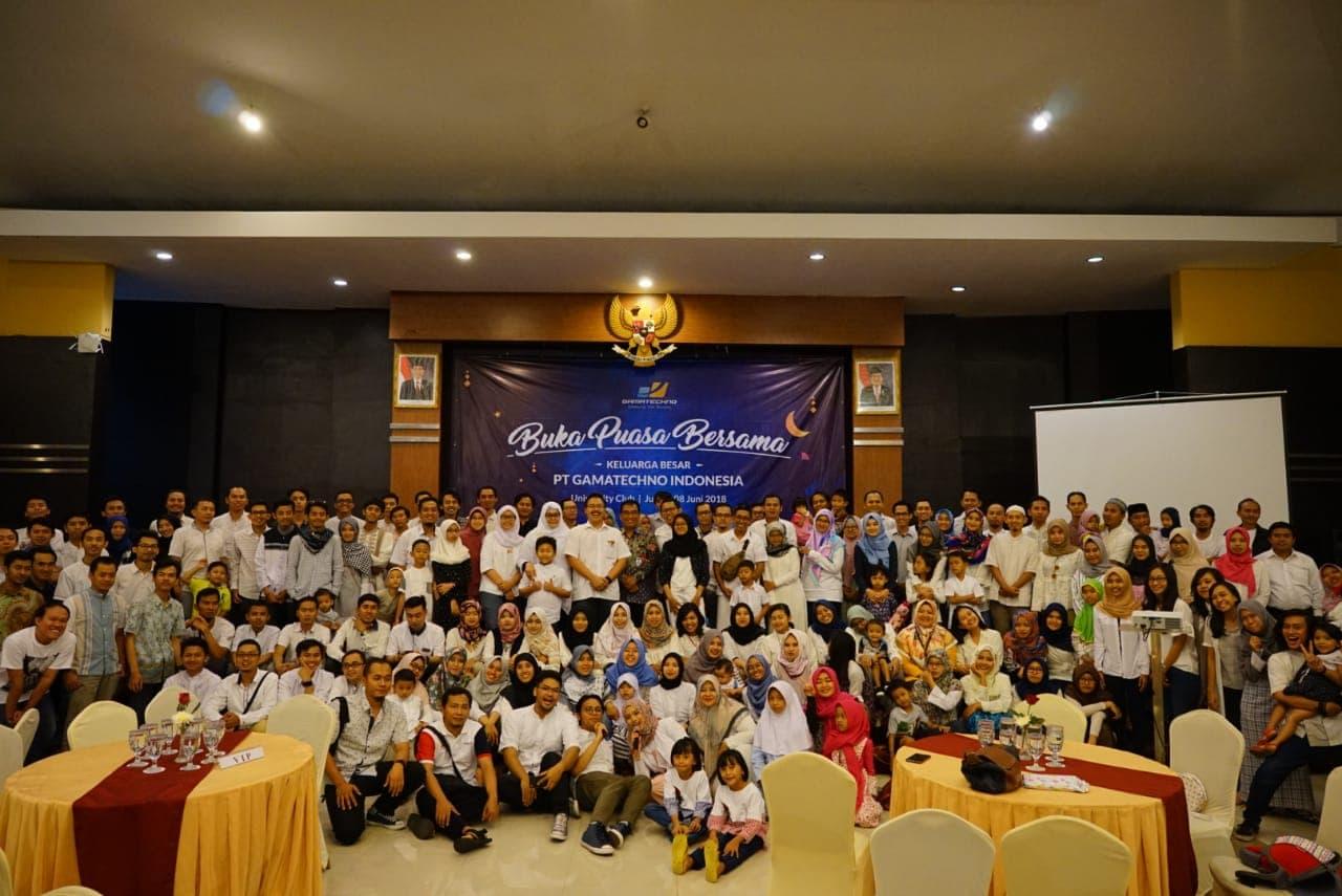 Gamatechno Ajak Seluruh Karyawan dan Keluarga Hadiri Buka Bersama 1439H