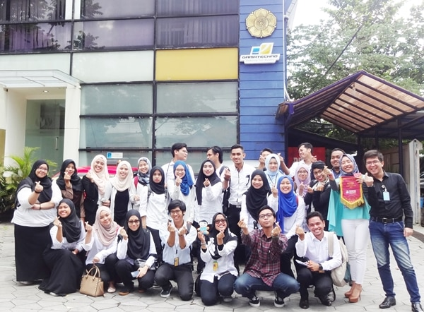 Gamatechno Sambut Kunjungan Mahasiswa Universiti Teknologi Mara Malaysia