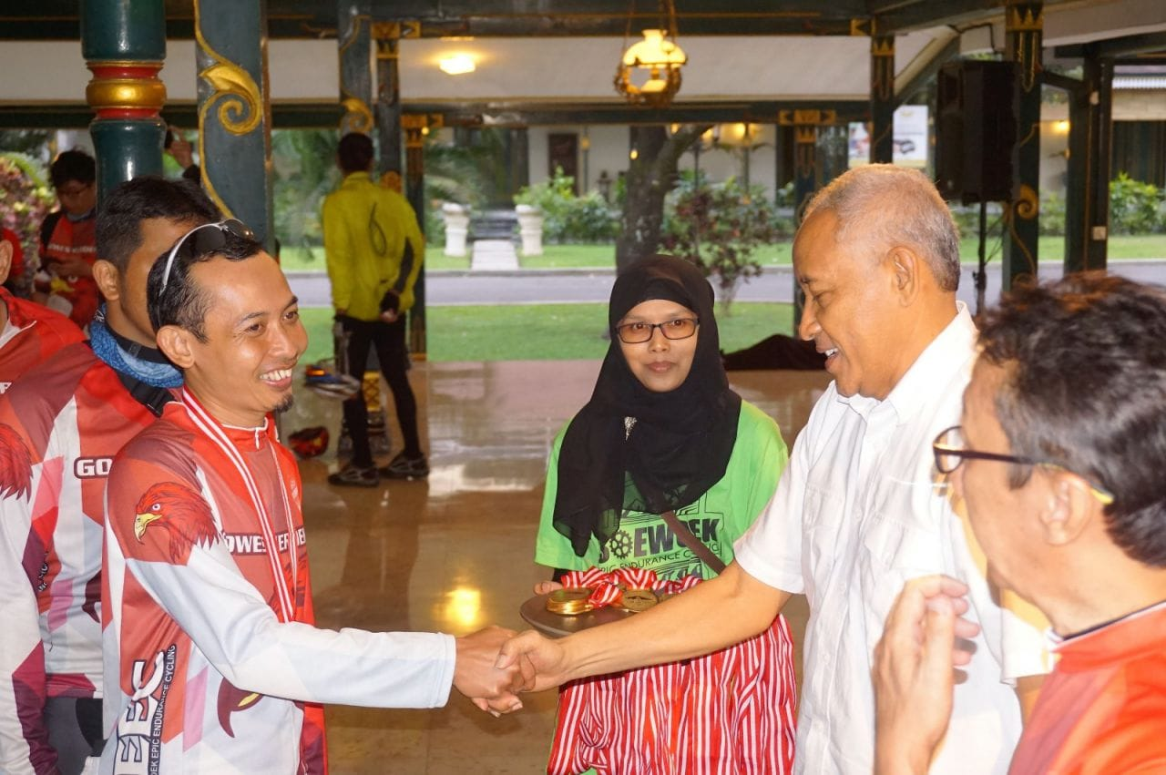 "Gamatechno Dukung ""Gowes Merdeka"" SEEC Melalui Aplikasi Lacakin"
