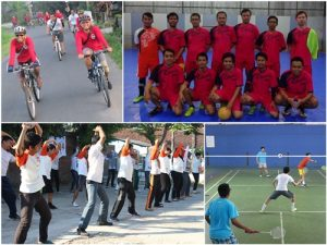 Tingkatkan Teamwork Dan Keakraban, Gamatechno Fasilitasi Kegiatan Karyawan Melalui Klub Hobi