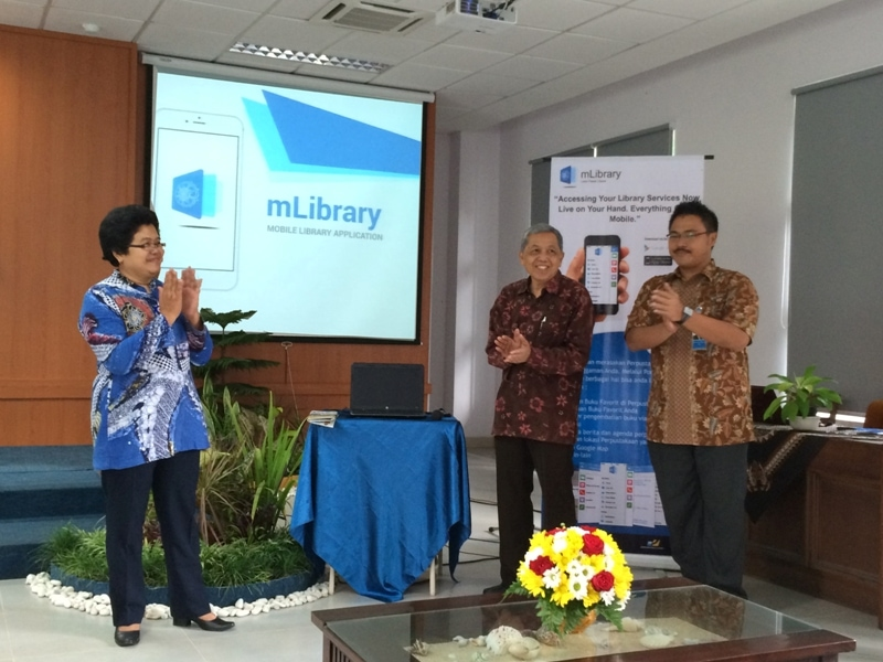 Launching mLibrary UGM