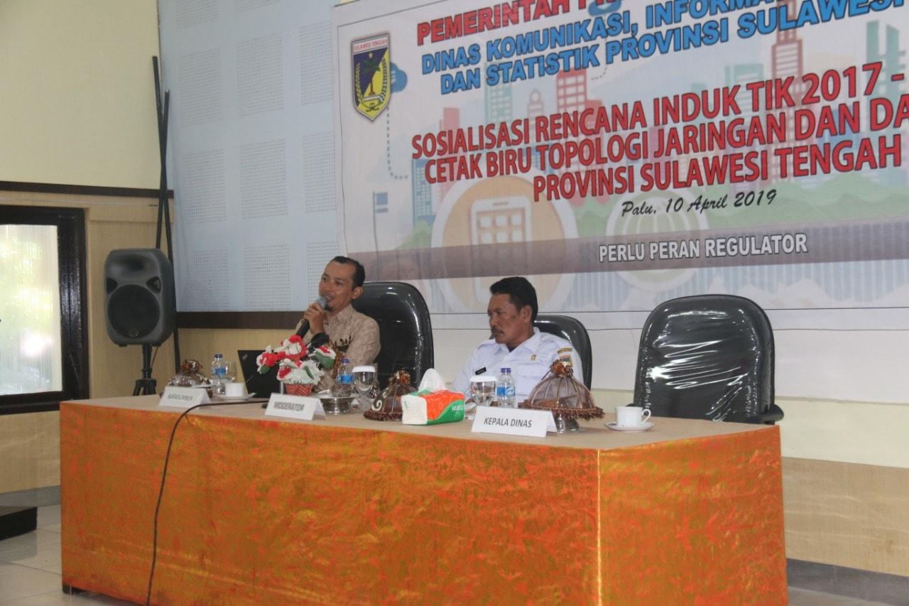 Gamatechno Gelar Sosialisasi Rencana Induk TIK 2017-2022 Sulawesi Tengah