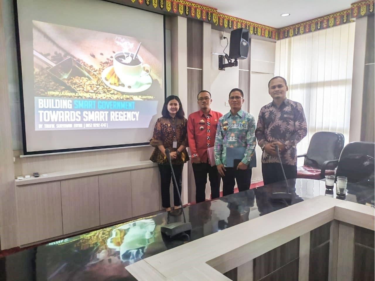 Kabupaten Lampung Barat Mulai Persiapkan Rancangan Smart City