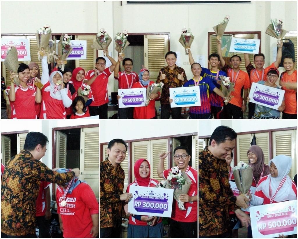 Tim Ganda Putri Dan Ganda Campuran Gamatechno Sapu Bersih Ajang GMUM Cup 2016