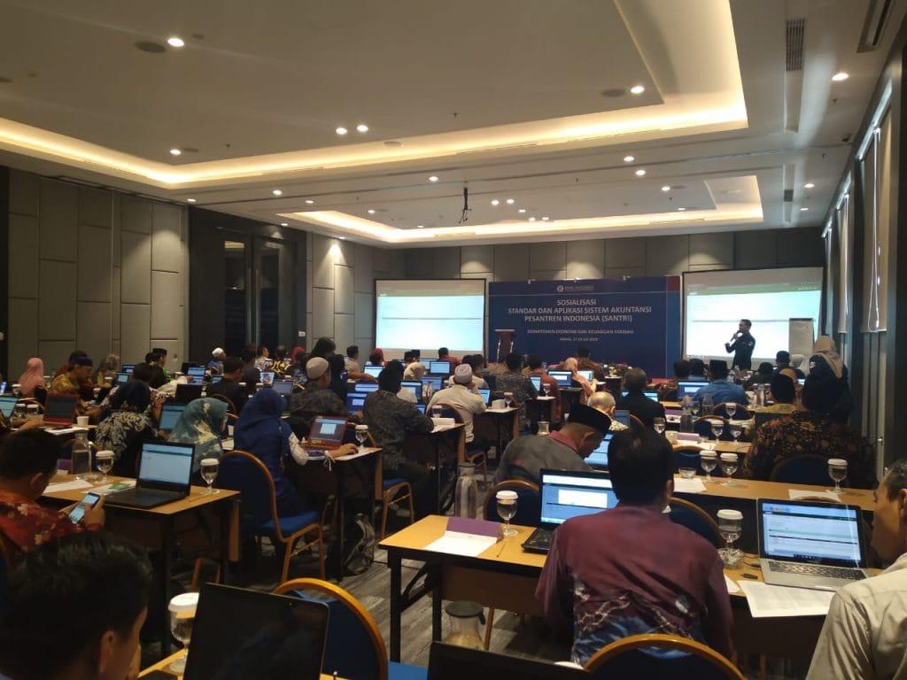 Aplikasi SANTRI, Bank Indonesia, Gamatechno, Sosialisasi Aplikasi SANTRI