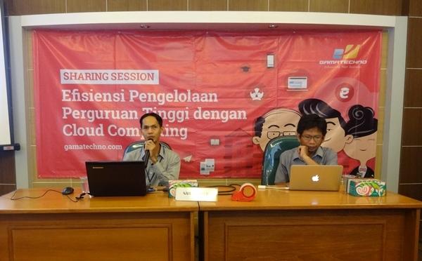Gamatechno Berbagi Solusi Cloud Computing Dengan Perguruan Tinggi Jogja-Jateng