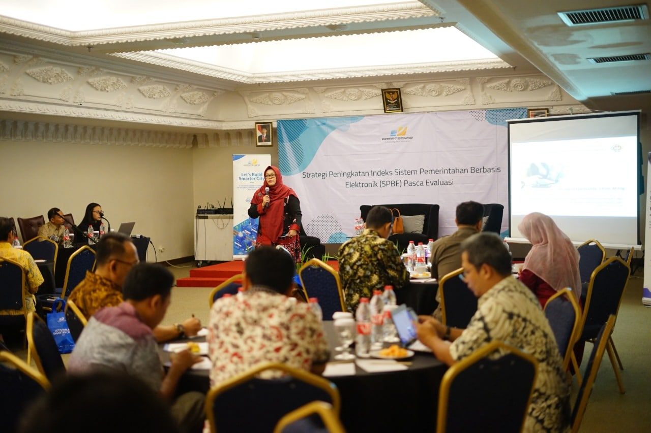 Dihadiri 60 OPD Se-Indonesia, Gamatechno Kupas Rahasia Peningkatan Indeks SPBE