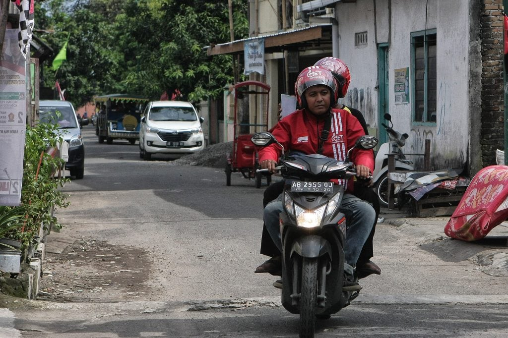 get indonesia, smart transportation, ojek online