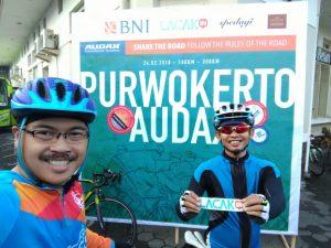 Lacakin Dukung Event Audax Purwokerto