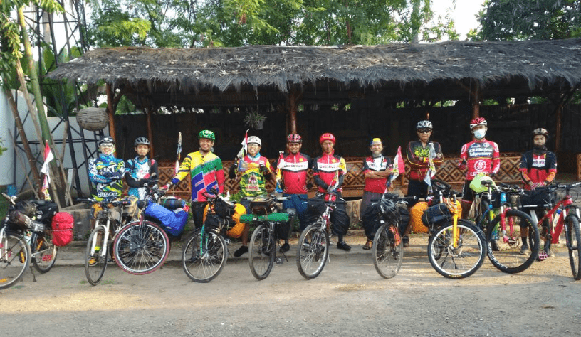 Lacakin Pantau Peserta Gowes Moedik 2018 Bike to Work Indonesia