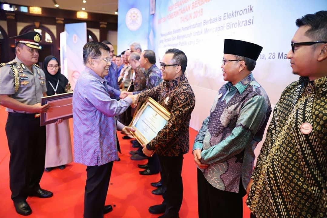 Terapkan SPBE Dengan Baik, 18 Instansi Pemerintah Raih Penghargaan Dari Kementerian PANRB