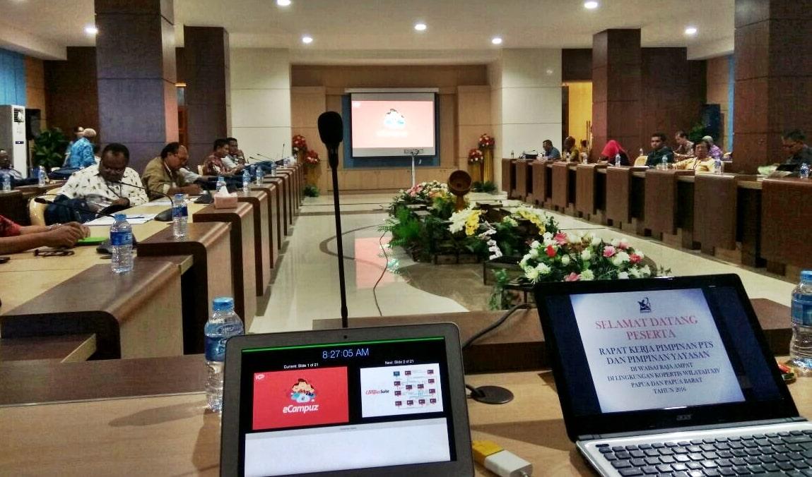 Sambangi Ujung Timur Indonesia, Gamatechno Siap Dukung Perguruan Tinggi di Papua Dengan eCampuz