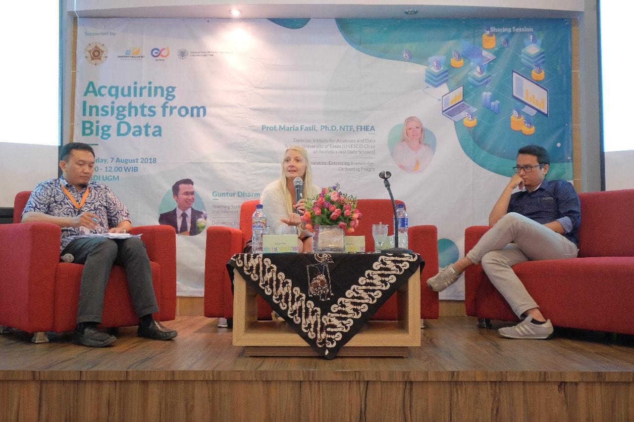 Gamatechno Gelar Sharing Session, Manfaatkan Big Data Untuk Kebutuhan Industri Multisektoral dan Pemerintahan