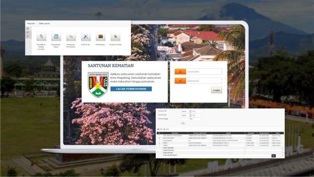 Aplikasi Santunan Kematian, Aplikasi Pemkot Magelang, Smart City Magelang