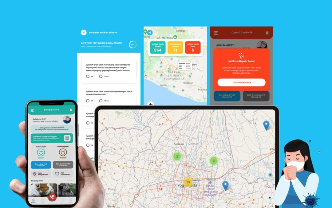 Cared+, Aplikasi Konfirmasi Diri dan Monitoring Indikasi Gejala Covid-19 Secara Swasembada dalam Klaster Masyarakat