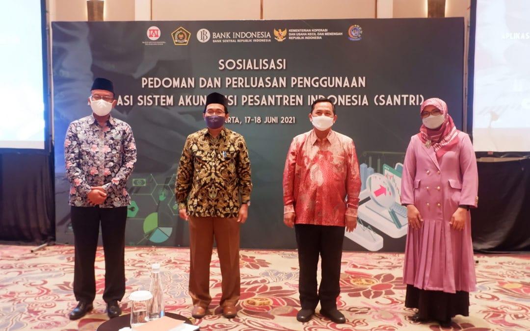 Bank Indonesia Gelar Sosialisasi Batch ke-2 Aplikasi Santri