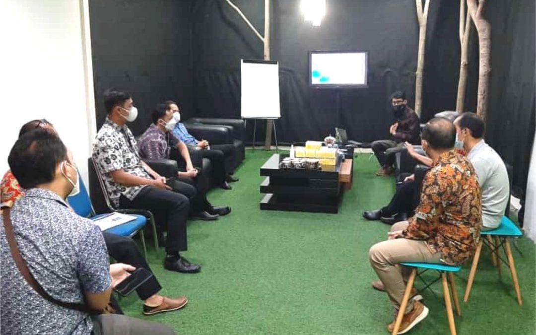Tindak Lanjut Rencana Pengembangan SPBE, Diskominfo Kab Tegal Kunjungi Kantor Gamatechno Indonesia