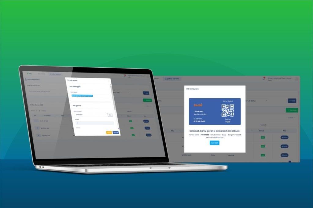 Platform Garansi Digital Sidig memberikan kemudahan bagi konsumen dalam mengakses layanan garansi produk